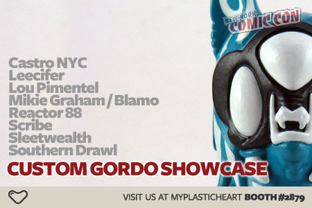 NYCC : Custom Gordo Showcase