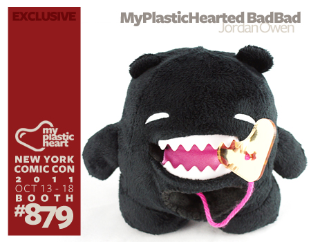 NYCC EXCLUSIVE : MyPlasticHearted BadBad