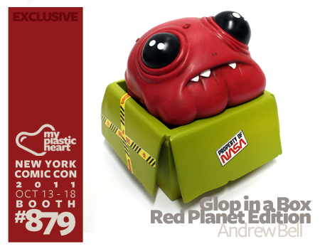 NYCC : Glop in a Box – Red Planet Edition