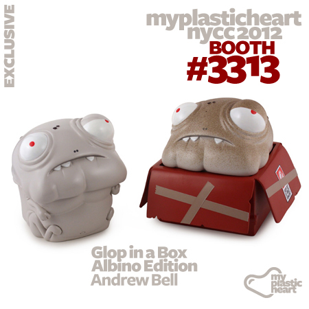 Glop in a Box by Andrew Bell :: Albino Edition :: Exclusive at NYCC 2012