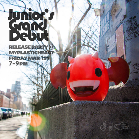 Junior's Grand Debut – Friday, March 1 :: 7-9pm