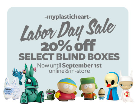 Blind box savings all weekend long!