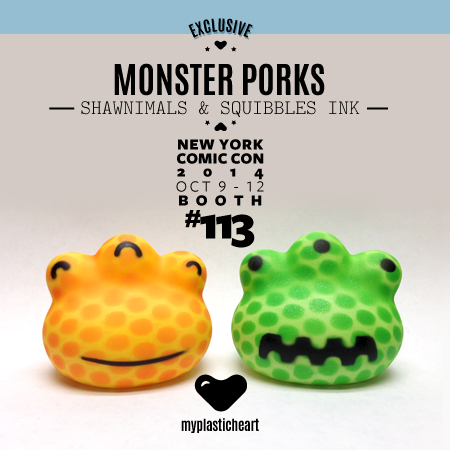 NYCC 2014 Exclusive – Monster Porks