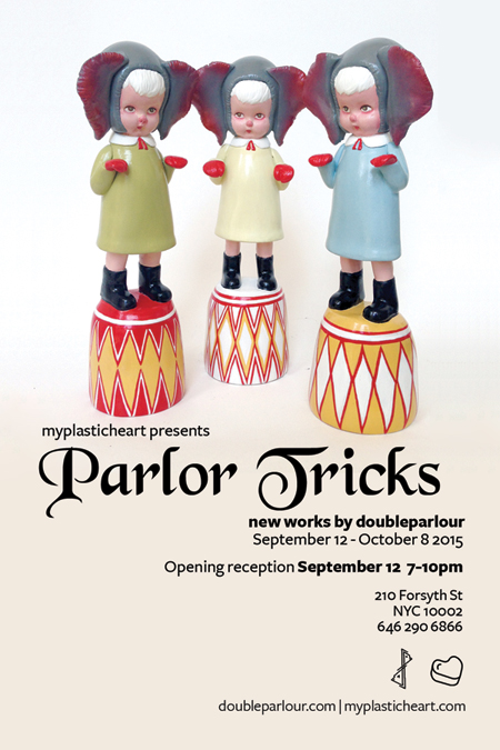 Parlor Tricks – New Works by doubleparlour opens September 12th