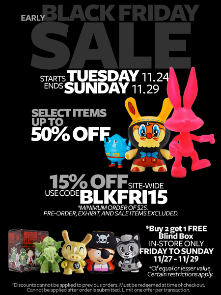 Early Black Friday Sale at myplasticheart!