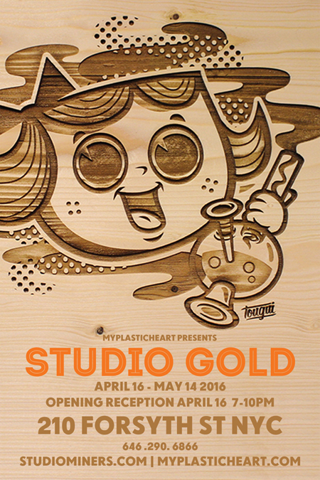 Studio Gold group exhibition opens 04.16.16