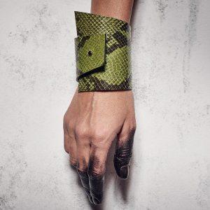CUFF Green Snake
