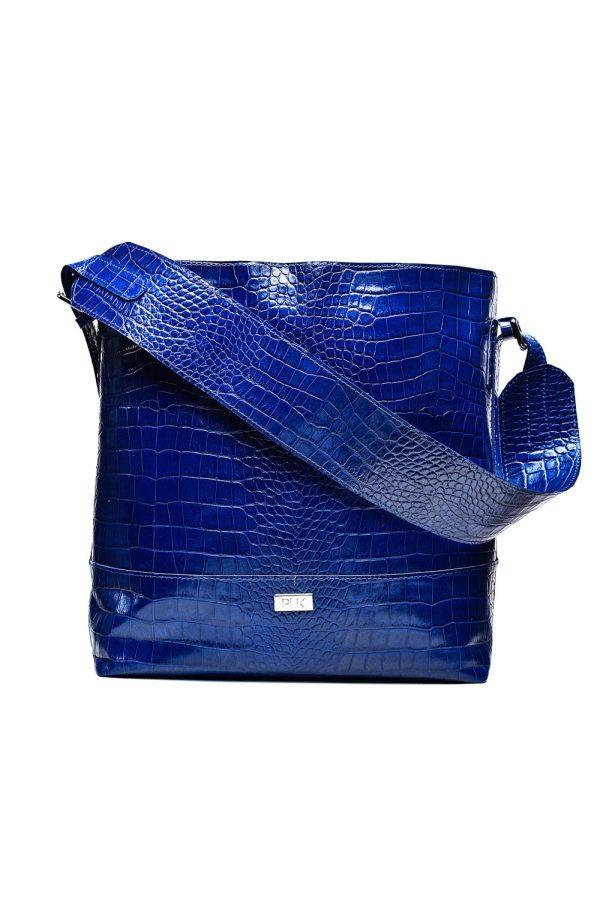 BASIC PLIK Blue Croc Print