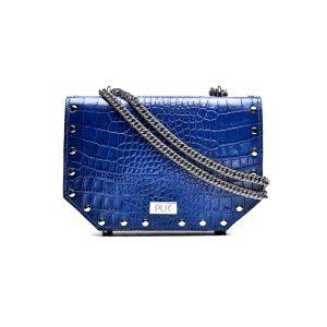 PLIK LOLA Blue Croc Print