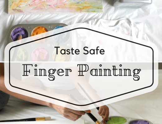 taste safe finger painting with all