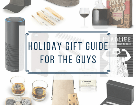 holiday gift guide for the guys in your life