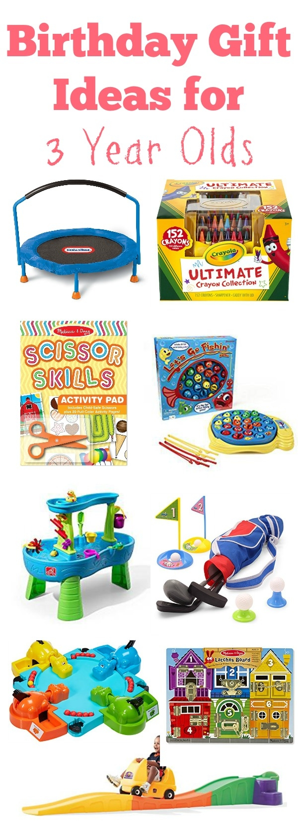 Birthday Gift Ideas For 3 Year Olds