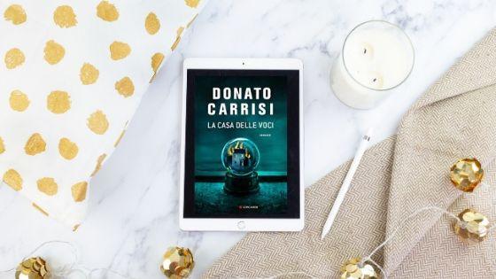 #lettura, Donato carrisi, Gems, horror, il libraio, La casa delle voci di donato carrisi, Leggo, Longanesi, My Po Blog, recensione, Romanzo, thriller