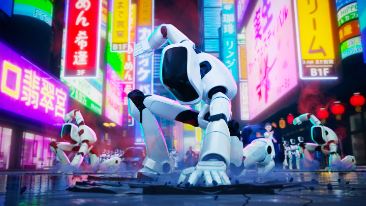"""""""I Mitchell contro le macchine, film d'animazione, netflix, novità,"""
