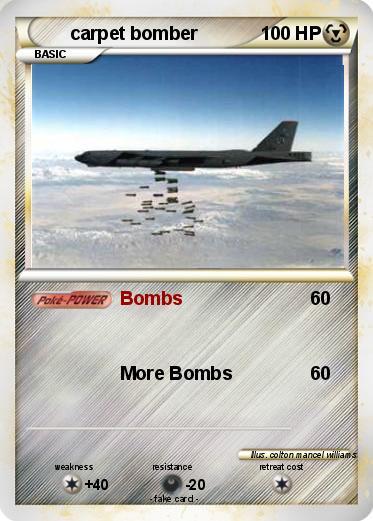 Pokmon carpet bomber