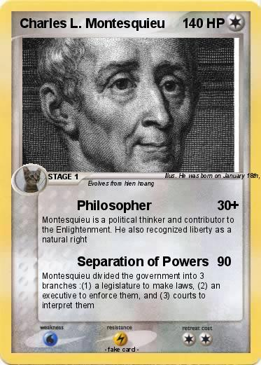 Pokémon Charles L Montesquieu 1 1 Philosopher My