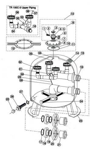 Purex Triton C3 Parts Diagram | My Pool