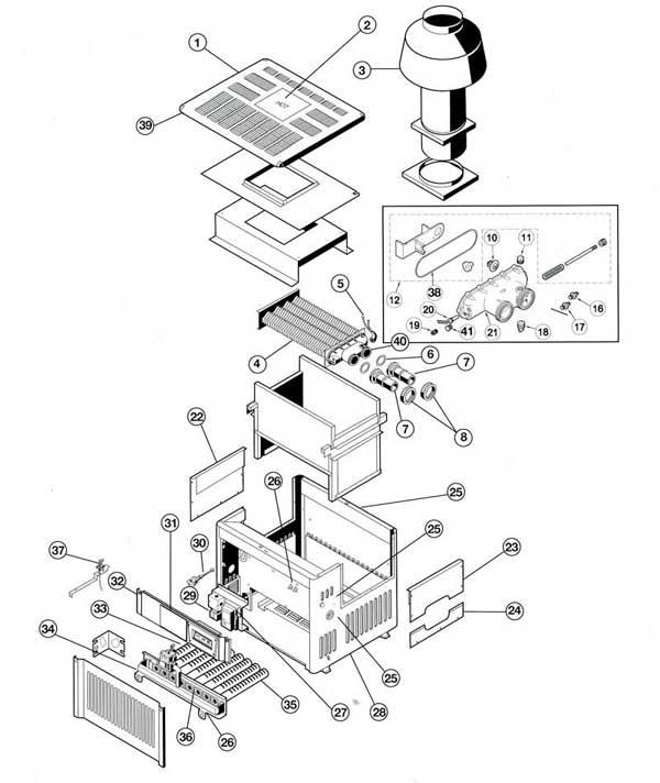 Hayward H-Series ED2 Parts Diagram