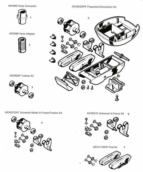 MyPool, Hayward SwimClear Parts Diagrams, 20 Series