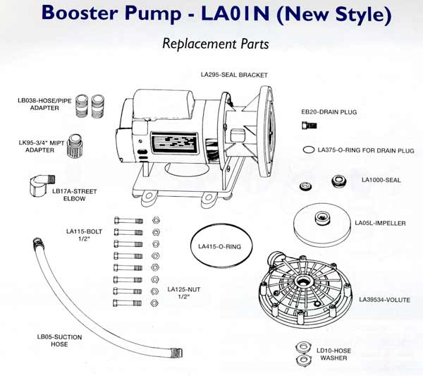 Swimming Pool Cleaner Booster Pumps, Letro