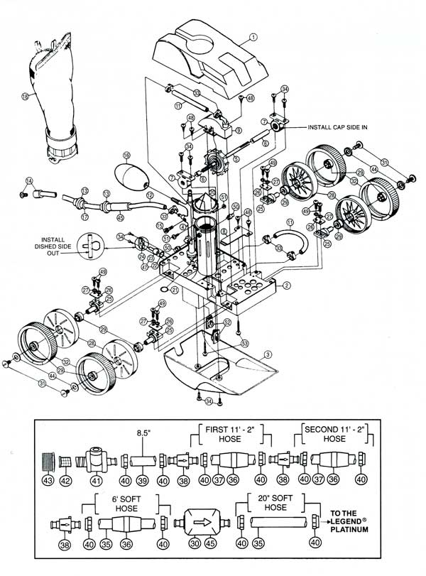 Letro Legend LL105 Parts Diagram
