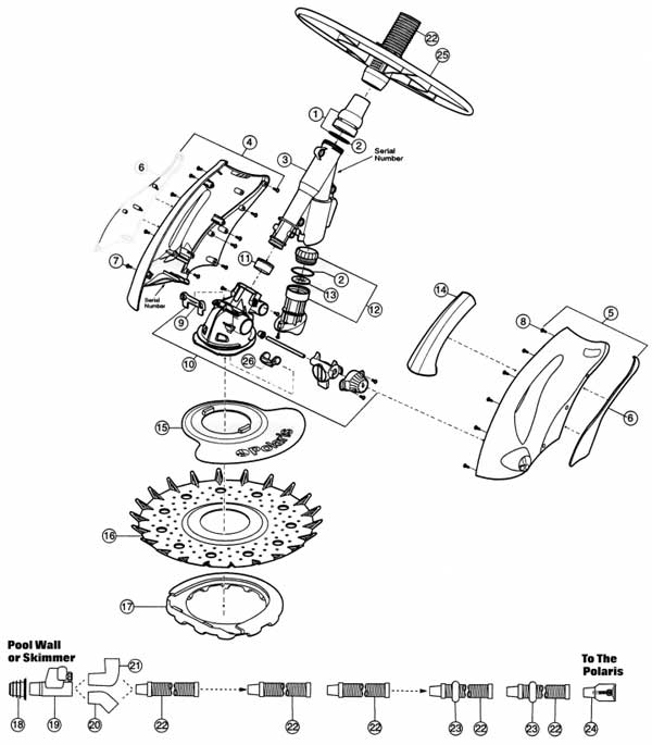 Polaris 140 Parts Diagrams, MyPool