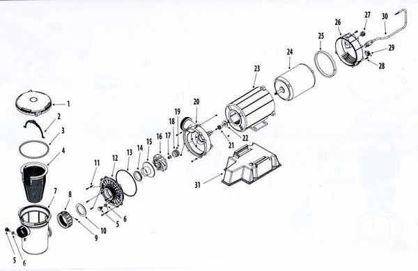 Waterway Workman Pump Parts