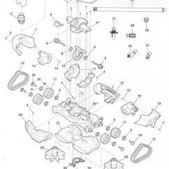Baracuda Pool Cleaner Parts Diagram Refrigerator Wiring Whirlpool Zodiac Mx8 List