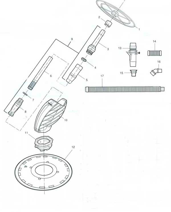 baracuda pool cleaner parts diagram accounting cycle zodiac ranger diagrams