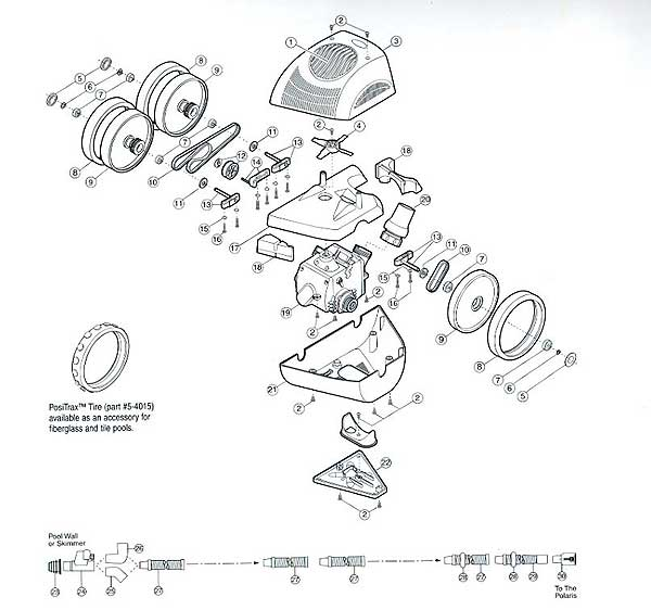 Polaris 340 Parts Diagraam, MyPool