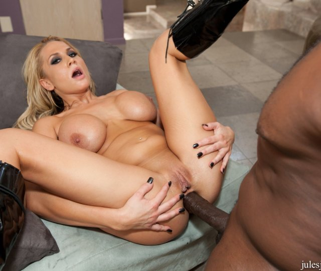Alanah Rae In High Boots Takes Monster Black Cock In Her Asshole
