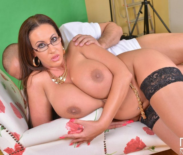 Emma Butt In Stockings Having Sex With A Photographer In The Studio