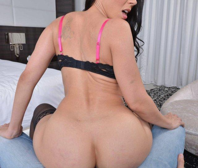 Hot Brunette Rachel Starr In Sexy Black Nylons Gets Fucked In Pov