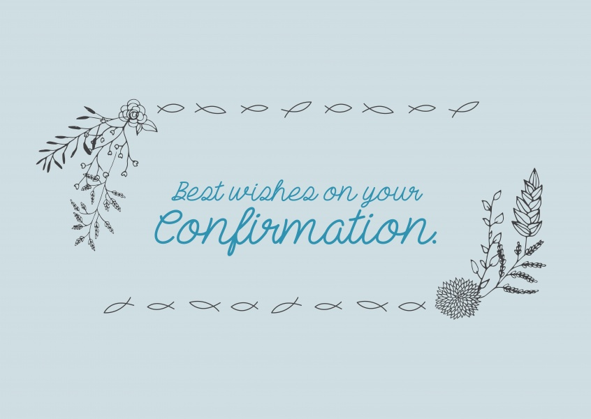 Best Wishes On Your Confirmation Communion Cards Send