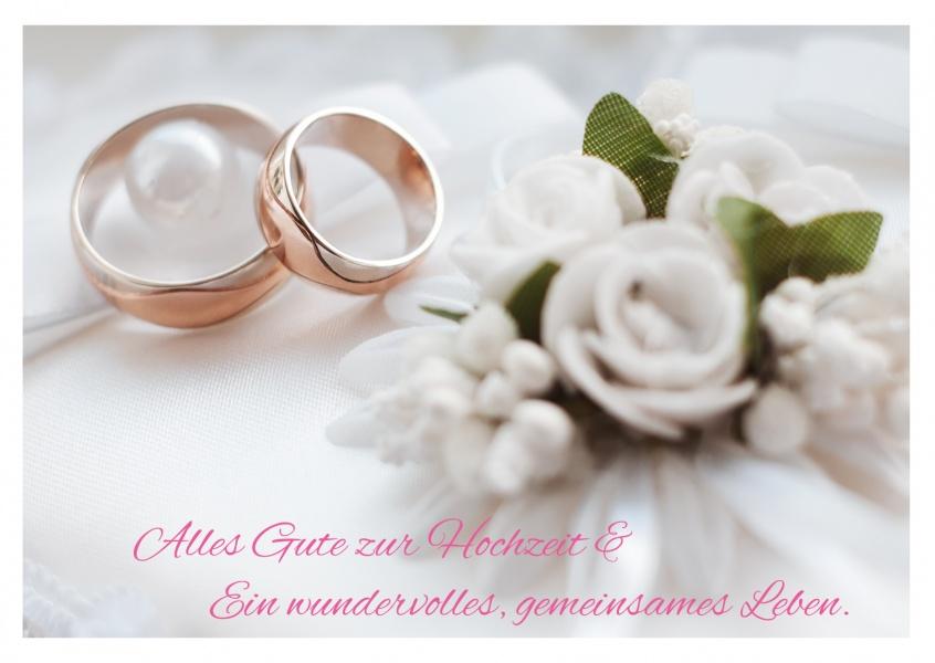 Alles Gute zur Hochzeit  Glckwnschkarten  Echte Postkarten online versenden