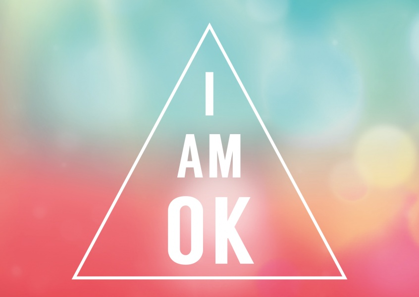 I Am OK Statements Amp Quotes Cards Send Real Postcards