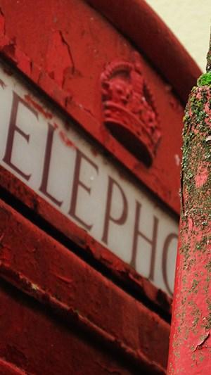 Urlaubsfoto Dezail Telefonzelle