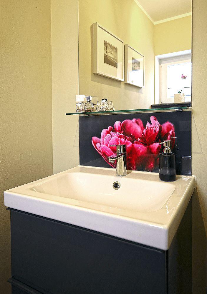 Badezimmer DesignIdeen  Beispiel fr AcrylglasDruck  myposter  Anne Niedree