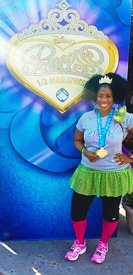Disney Princess Half Marathon Recap! - My Pretty Brown Blog