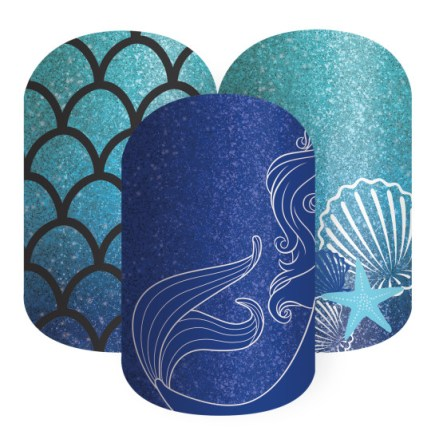 Jamberry Sapphire Sea Princess Ariel
