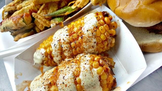 Saw's Soul Kitchen - Fried Corn   My Pretty Brown Fit