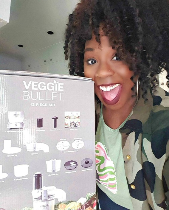 The Veggie Bullet - My Pretty Brown Fit