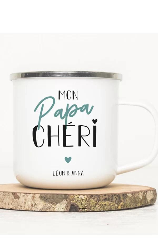 mug vintage personnalisé pour papa
