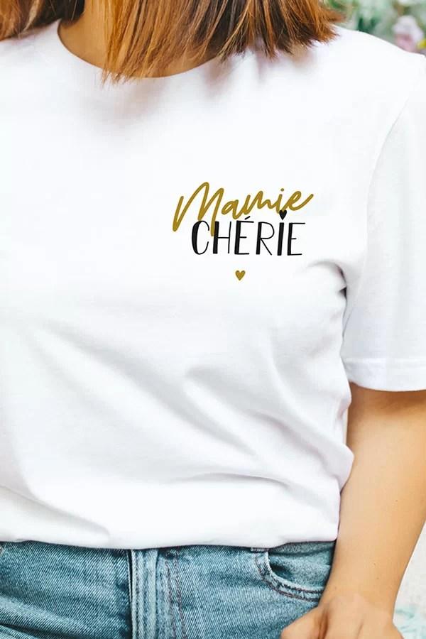 Mamie Chérie - Tshirt