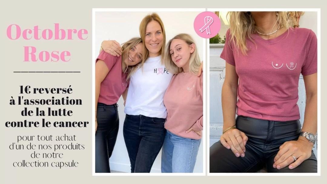 Octobre rose - cancer du sein