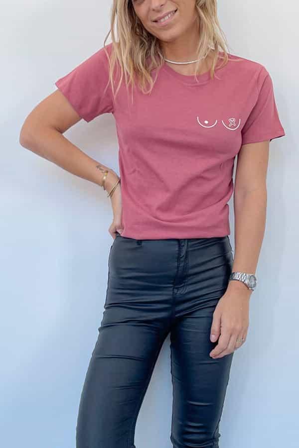t-shirt octobre rose