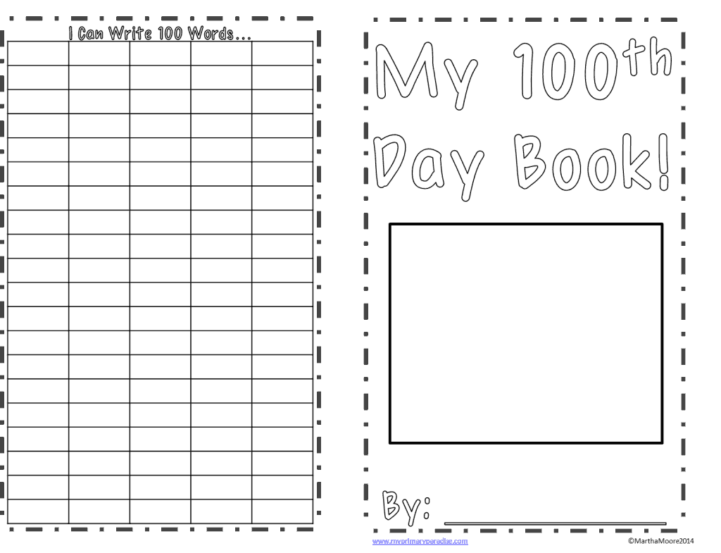 100th Day Fun With 2 Freebies