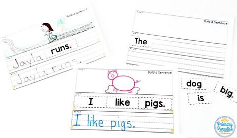 Building sentences- Sentence writing tips for basic