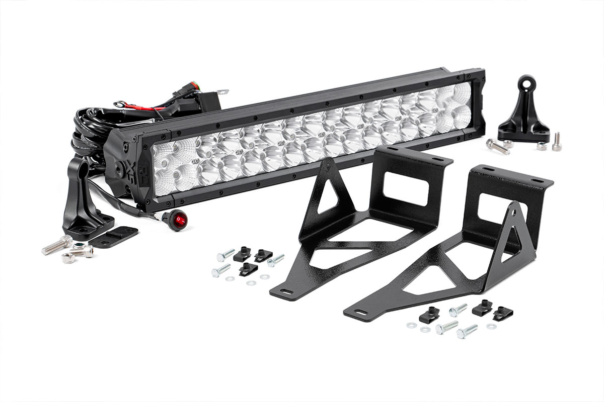20-inch X5 Series Dual Row LED Light Bar w/ Hidden Bumper