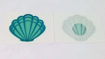 Seashell Nipple Sticker Pair-Pasties